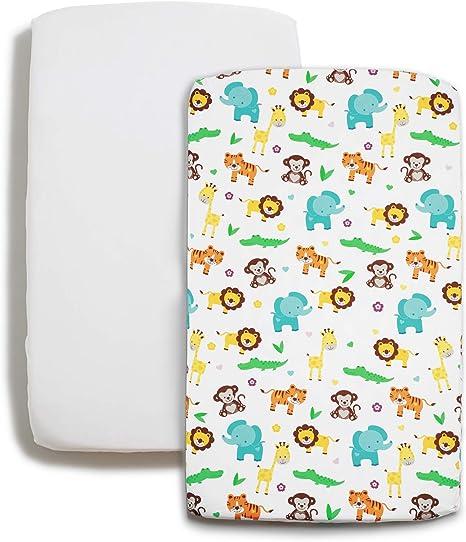 Niimo Next to me Sabanas set de sábanas (2 piezas) 100% algodón ...
