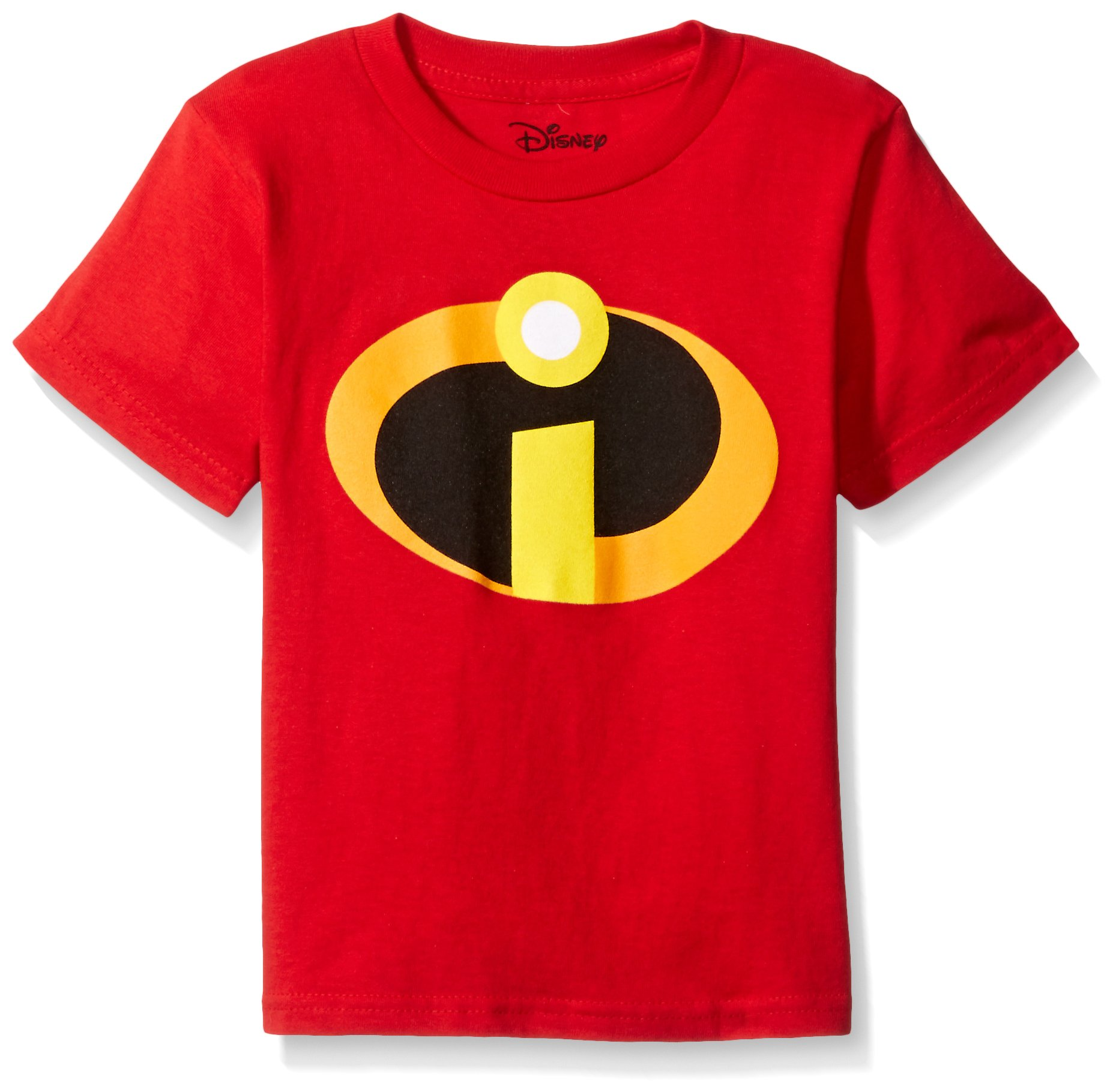 Disney Boys' Little Boys' The Incredibles T-Shirt, Red, 4