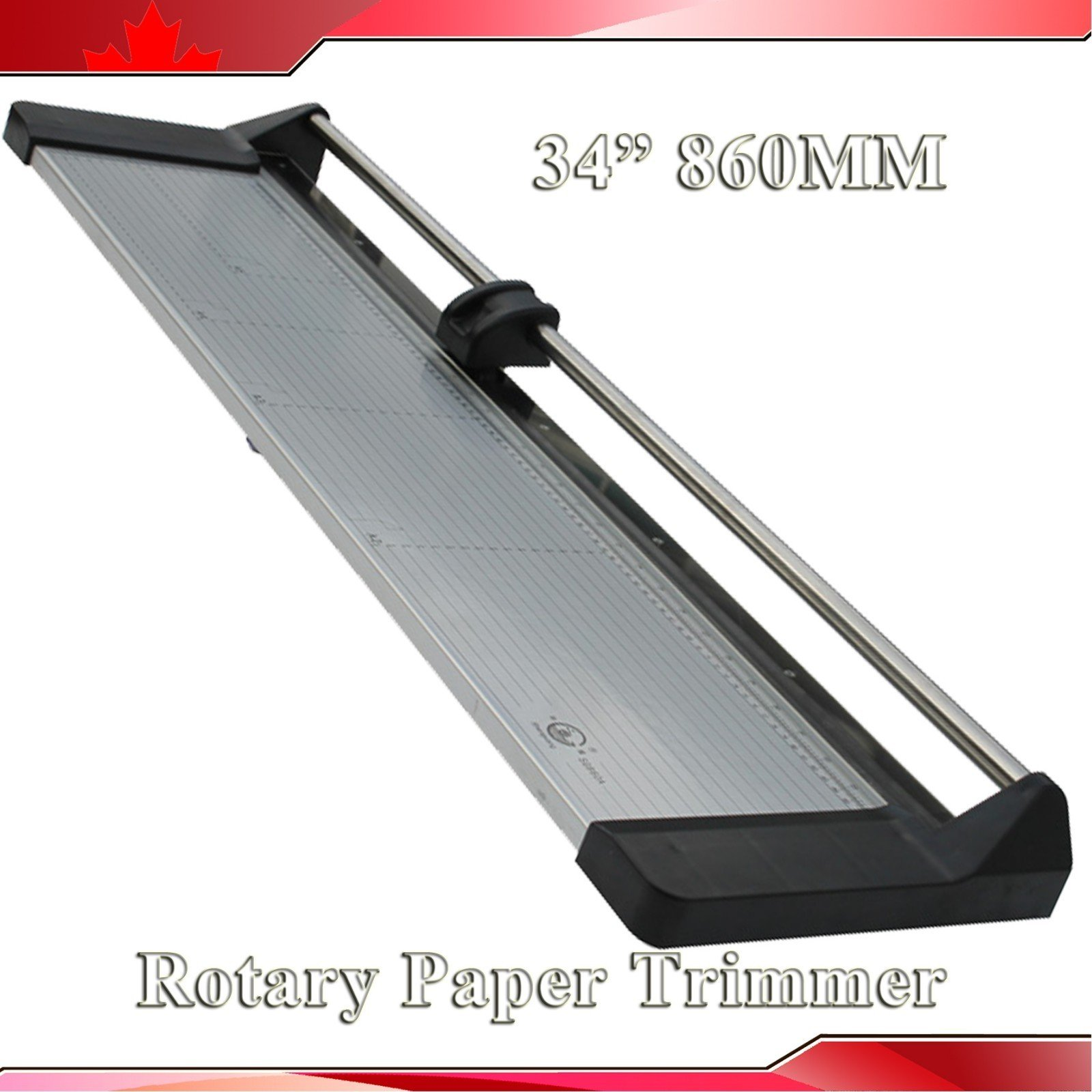 Brand New 33.8In 860mm Rotary Photo Vinyl Paper Cutter Portable Trimmer +1 Blade by Rotary