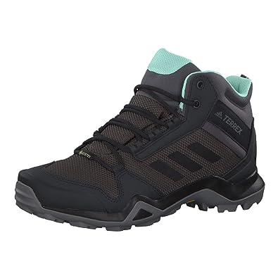 timeless design 65bb3 a7e15 adidas Women s s Terrex AX3 Mid GTX High Rise Hiking Boots Grau (Grey Core  Black