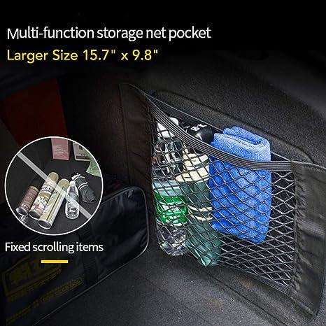 Amazon.com: Bolsa de malla para maletero trasero de 9 lunas ...