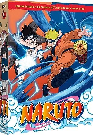 Naruto Box 6 Episodios 126 A 150 [DVD]: Amazon.es: Animación ...