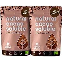Cacao en Polvo Orgánico Soluble Natural Athlete 75%