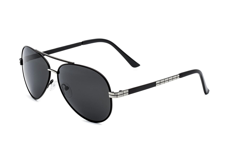 bf795439d9 60% de descuento Hombre Gafas de Sol Polarizadas Aviador UV 400 Protección  Gafas Ligeras con