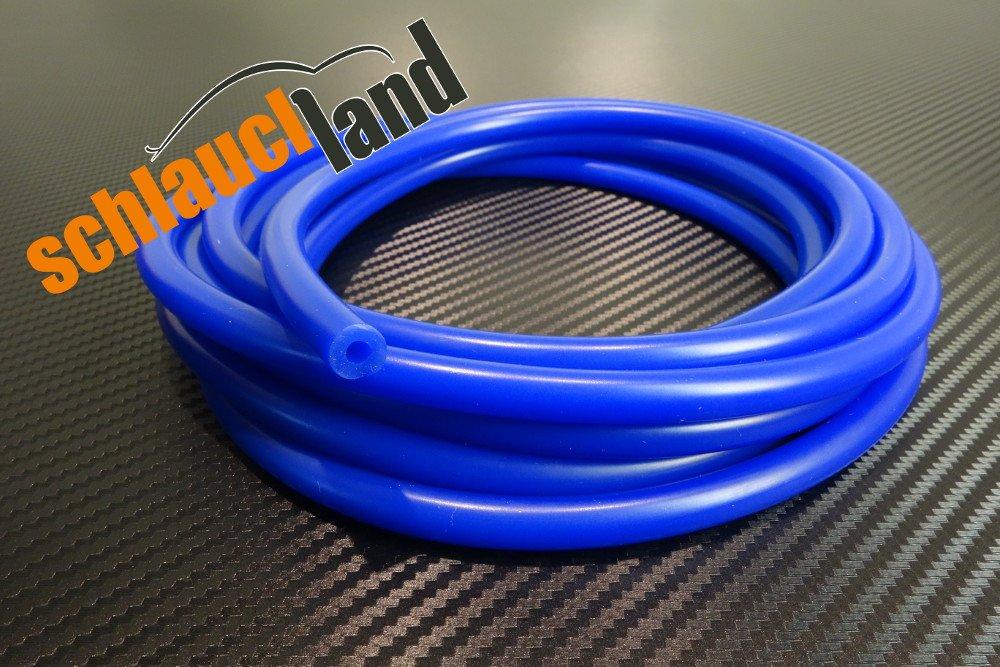Unterdruckschlauch Innendurchmesser 12 mm blau *** Silikonschlauch Vakuumschlauch Schlauch Meterware