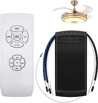 YLX Mando a Distancia Universal para Ventilador de Techo, Control ...