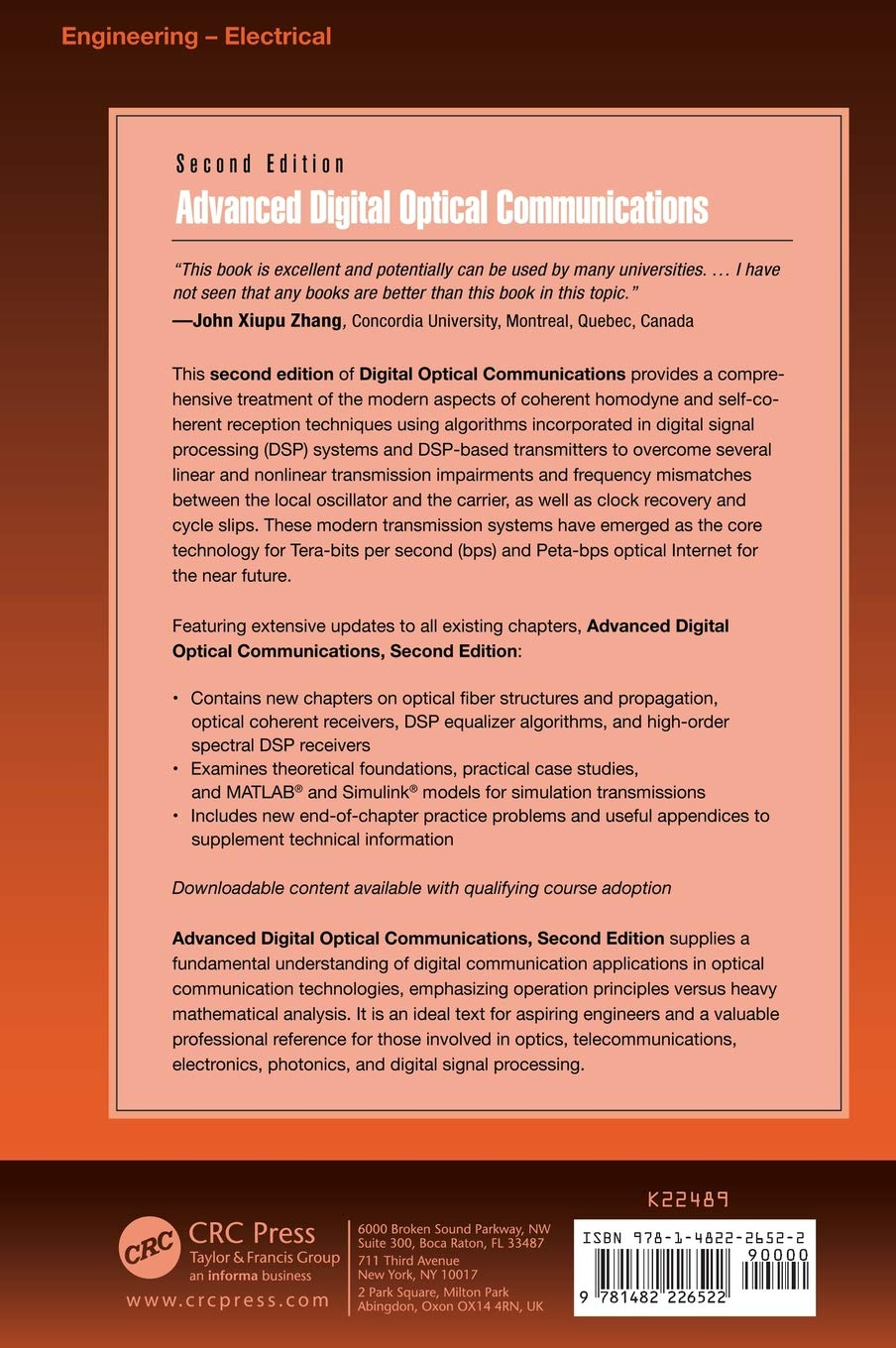 amazon advanced digital optical communications second edition