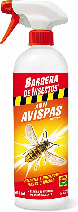 Compo 2069802011 Barrera De Insectos Antiavispas 500 Ml 26 5x6 5x6 5 Cm Amazon Es Jardín