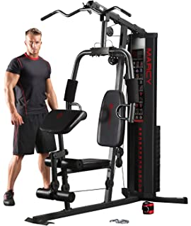 Sporting Goods Ultimate Body Workout 50 Exercise Machine Strength Training Weights Home Gym Fit