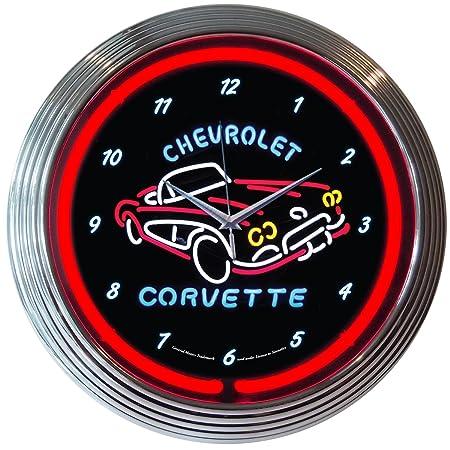 Neonetics Corvette C1 Neon Wall Clock, 15-Inch