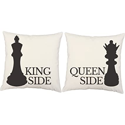 Amazon RoomCraft Set Of 40 King And Queen Throw Pillows 40x40 Classy King And Queen Decorative Pillows