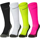 Graduated Compression Socks, Boost Performance, Stamina, Circulation & Recovery, For Sports, Running, Nurses, Shin Splints, Flight, Travel, Maternity & Pregnancy. Unisex.
