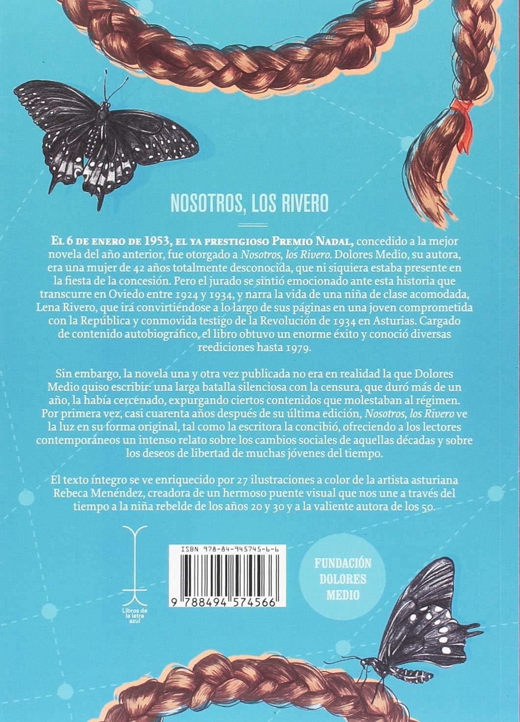 Nosotros, los Rivero (Escrito en Asturias): Amazon.es: Dolores Medio Estrada: Libros