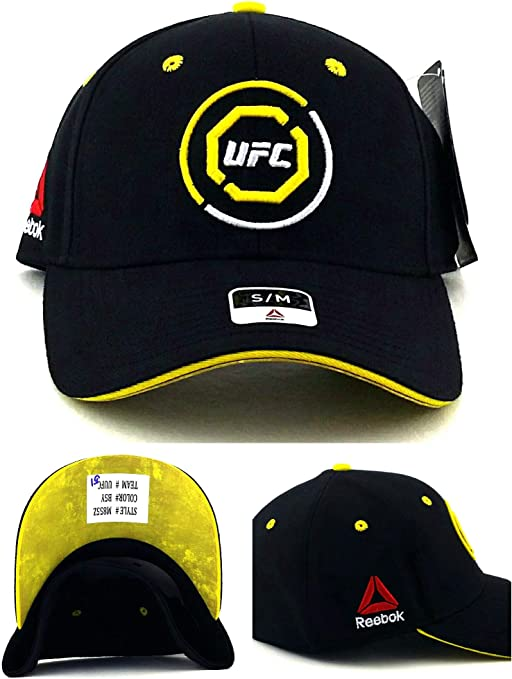 Reebok UFC RBK MMA - Gorra ajustable, diseño de Octagon Fighter ...