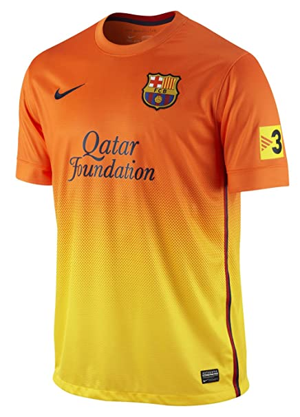 b8a4d2ac27d Image Unavailable. Image not available for. Color: FC Barcelona 2012/13  Away Jersey Men's ...