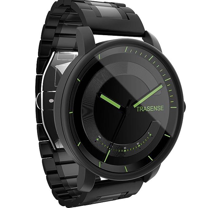 Hybrid Smartwatch, reloj de cuarzo con notificación recordatorio ...
