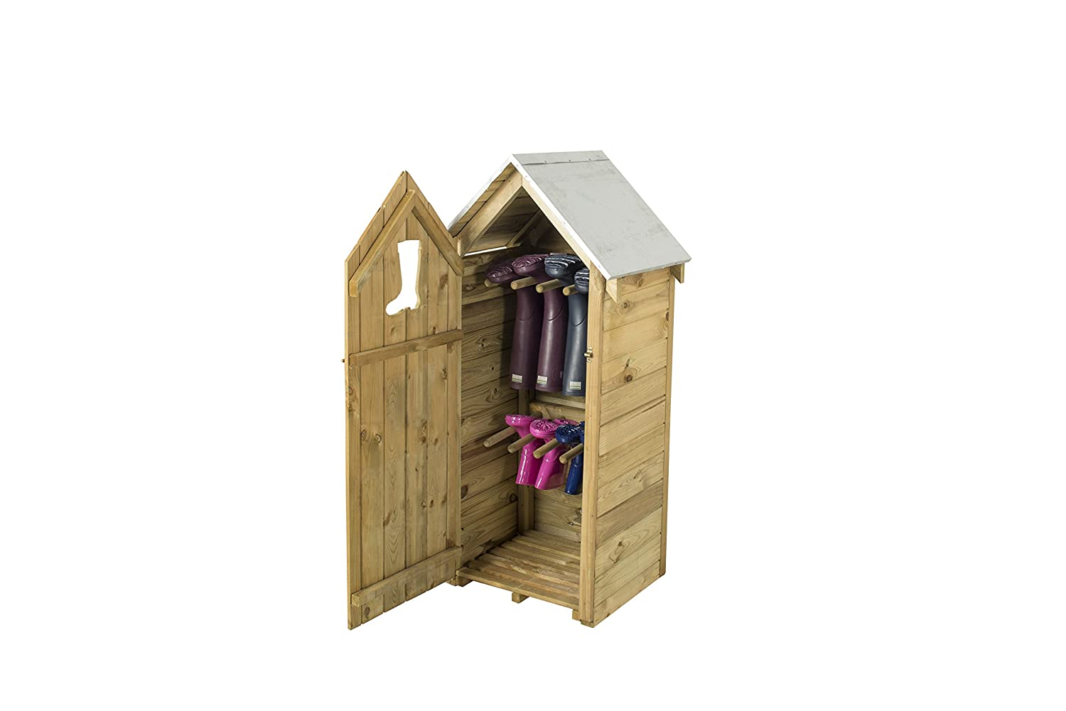Forest Boot Store, Natural, 47x58x122 cm Forest Garden BTSTORE112HD