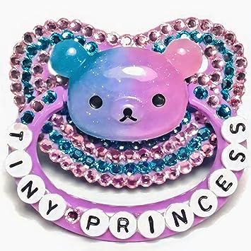 Amazon.com: Chupete para adultos con diseño de oso púrpura ...