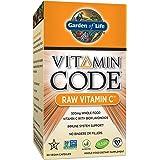 Garden of Life Vitamin C - Vitamin Code Raw C Vitamin Whole Food Supplement, Vegan, 60 Capsules (Packaging May Vary)