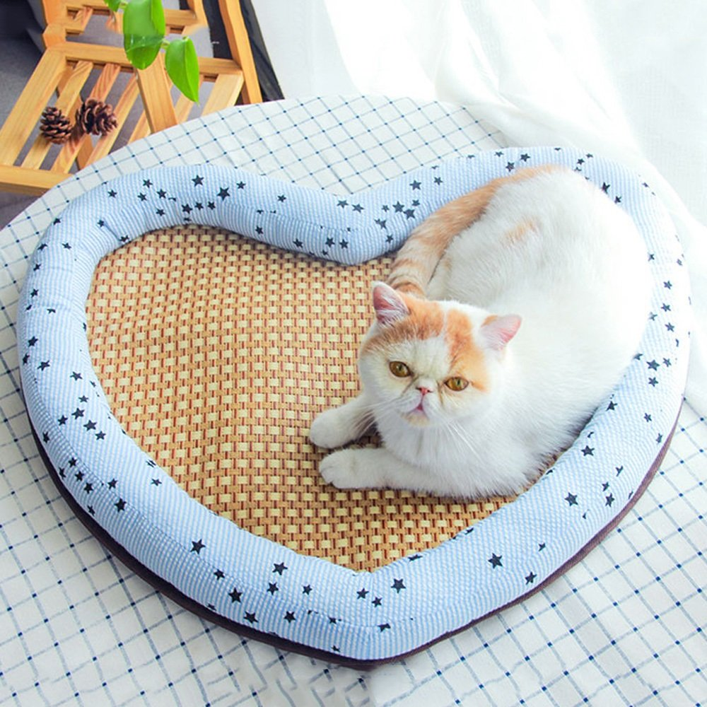 M50425cm Dog Bed Cat Bed, Quality Pet Bed, 2 Sizes, 2 colors, and Durable Oxford Cloth and Comfortable Design, Washable Lid, Boarding Pet Nest Favorite, Happy Hound = Happy Home