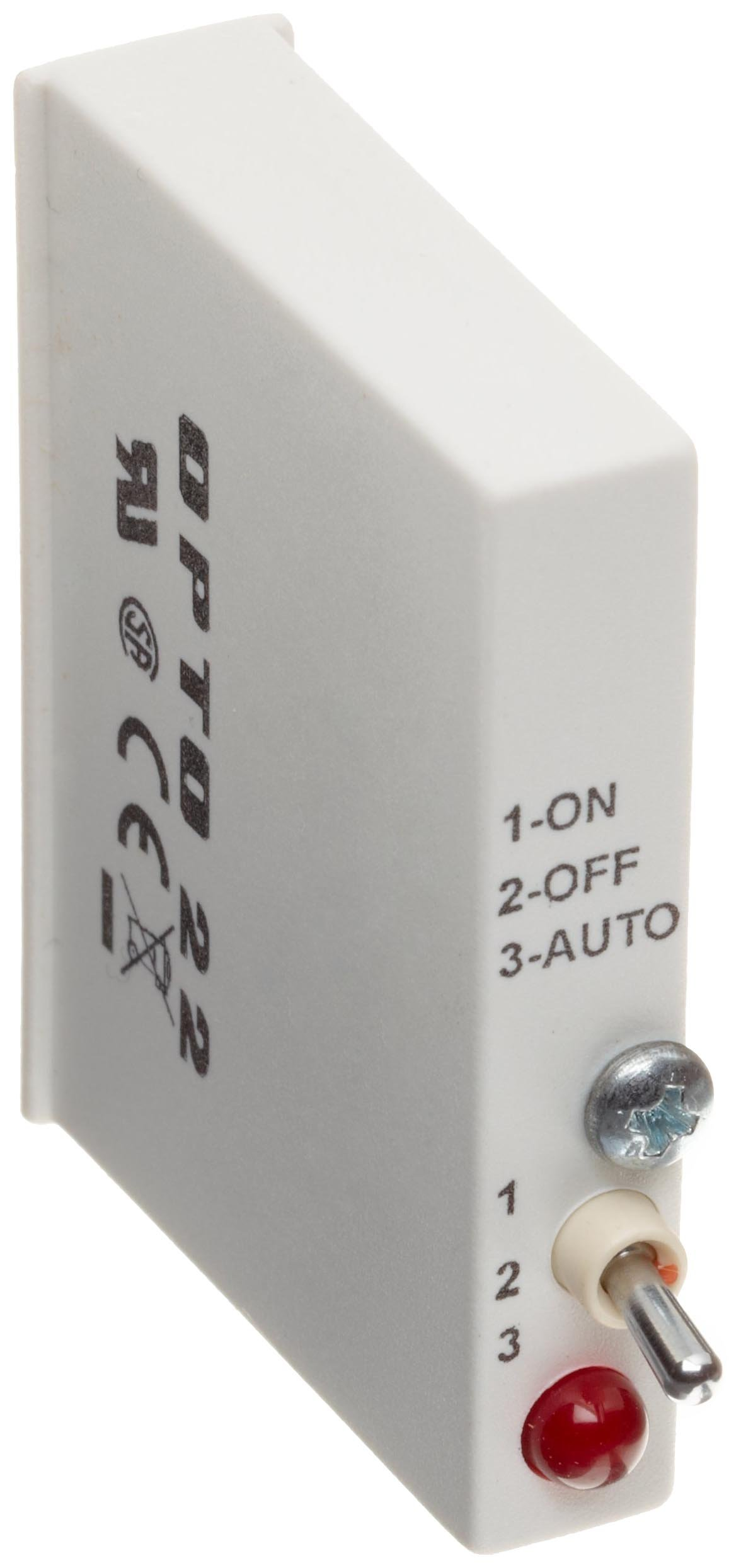 Opto 22 G4IDC5MA G4 DC Input with Manual/Auto Switch, 10-32 VDC, 5 VDC Logic, 4000 Volt I/O Isolation, 5ms Turn-On/Off Time, 25 Input Current