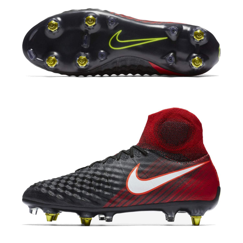 sports shoes 7c280 7d01d Nike Magista Obra II SG Pro AC Black RED Men s Sz 11.5 Soccer Cleats 869482  061