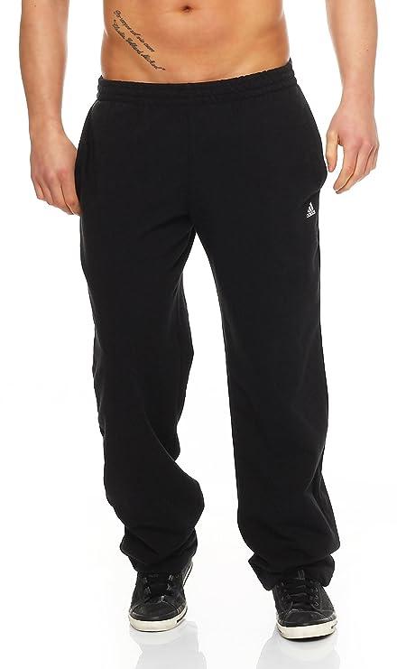 aa640237422e94 adidas Herren lange Trainingshose Essentials Light Sweat Pants Open ...