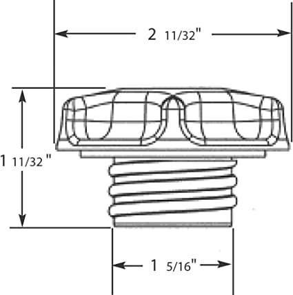 Engine Oil Filler Cap Stant 10112
