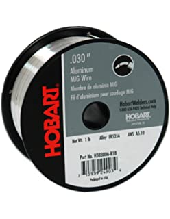 Hobart H383806-R18 1-Pound ER5356 Aluminum Welding Wire, 0.030-Inch