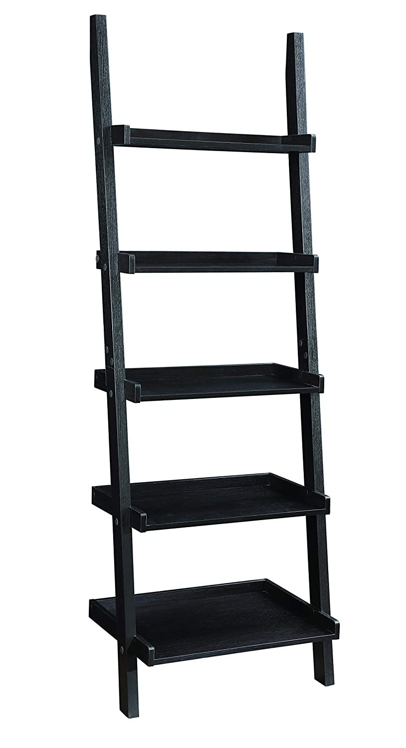 Coaster Home Furnishings 800338 Colella 5-shelf Ladder Bookcase, Cappuccino
