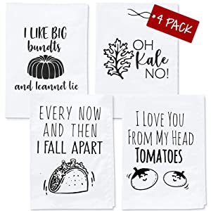 Funny Kitchen Towels - Housewarming Gifts New Home, Funny Housewarming Gifts, Kitchen Towel Sets, Housewarming Gifts New Apartment, Cute Kitchen Towels, Funny Dish Towels, Housewarming Gifts New Home