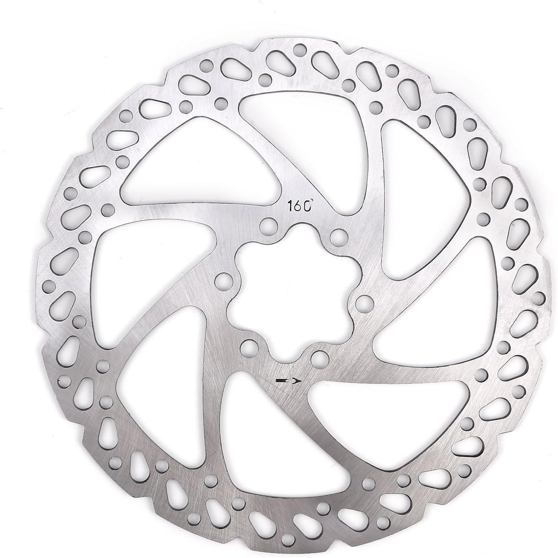 Kit Freno de Disco Hidráulico 160mm para Bicicleta de Montaña BMX MTB (para delantero): Amazon.es: Deportes y aire libre