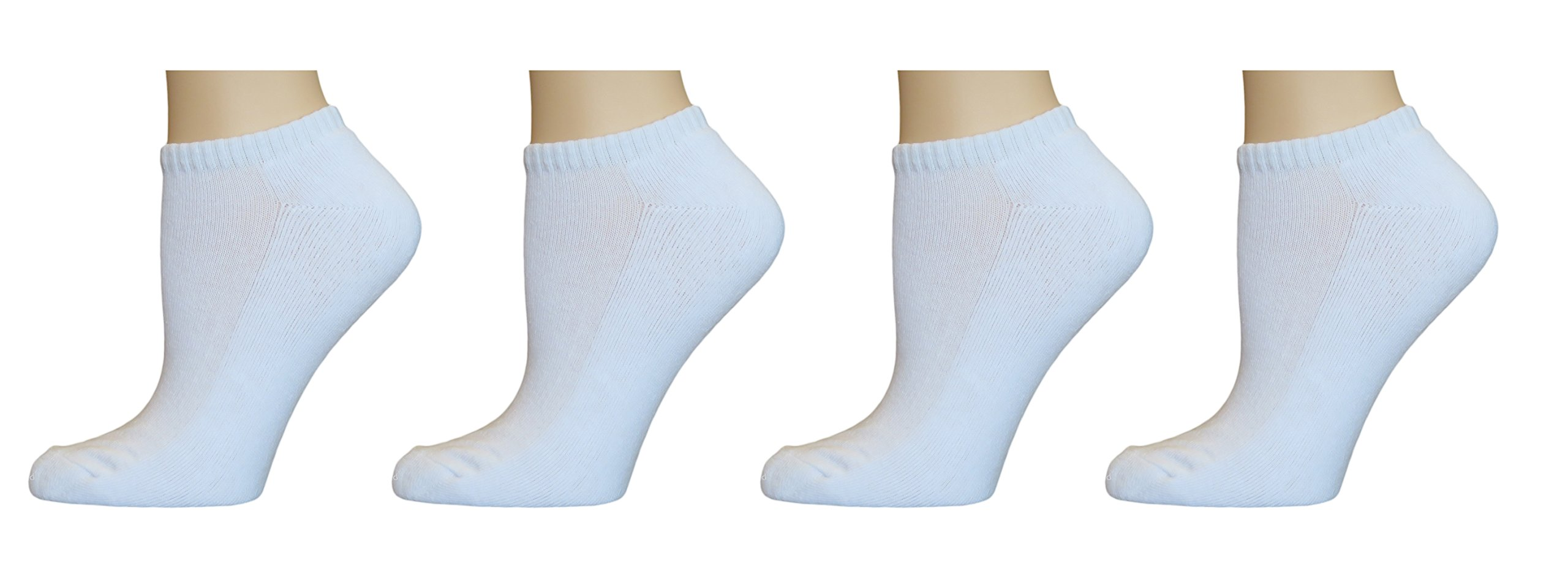 Top Step Women's No Show/Low Cut Performance Athletic Socks with Cushion Sole - 12 Pair by TOP STEP (Image #3)