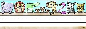 Creative Teaching Press Safari Friends Name Plates (Personalize Doors, desks, Seats, folders and More) (4298)