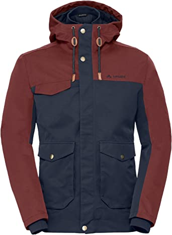Tom Tailor 3555313.00.10 Chaqueta con capucha para hombre extra/íble, con goma el/ástica