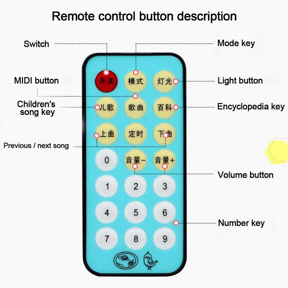 Babybett Crib Mobile mit Lichtern Musik und Projektor,Baby Mobile H/ängende Rotierende Baby Fr/üherziehung Spielzeug Eayse Spieluhr Mobile