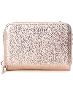 e67a767c6c4 Ted Baker Darrah Xhatch Textured Bar Zip Matinee Purse Rosegold ...