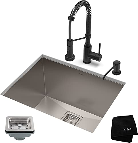Franke FF3880 Active-Plus Kitchen Faucet with Pull Out Spray