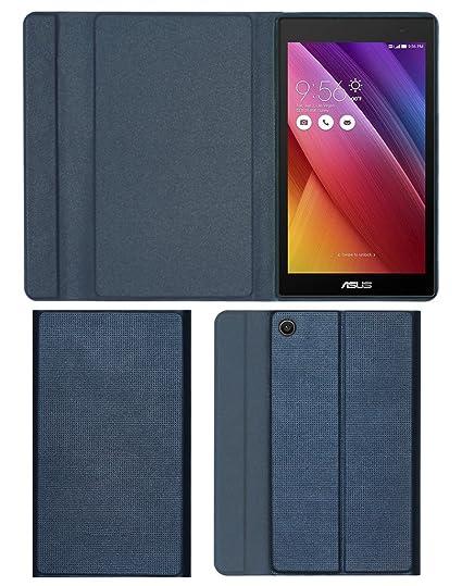 size 40 39594 0b3e2 Acm Imported Designer Tri-Fold Flip Case For Asus Zenpad C 7.0 Z170cg  Tablet Cover Royal Grey
