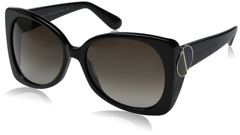 f983ec0c4e77 Marc by Marc Jacobs 2574193TE58HA Ladies MMJ 406-S Brown Black Sunglasses:  Amazon.co.uk: Clothing