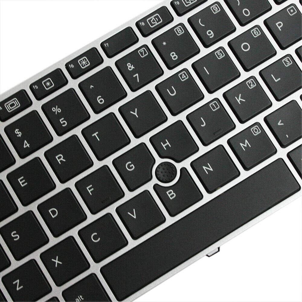 Zahara Laptop Backlit Keyboard Replacement for HP Elitebook 745 G3 848 G3 745 G4 840 848 G4 836308-001 US Keyboard Backlit