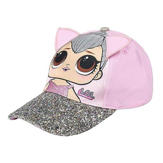 Bambina Cappello con Visiera MGA L.O.L novit/à Prodotto Originale con Licenza Ufficiale 22-40XX Full Print Surprise!