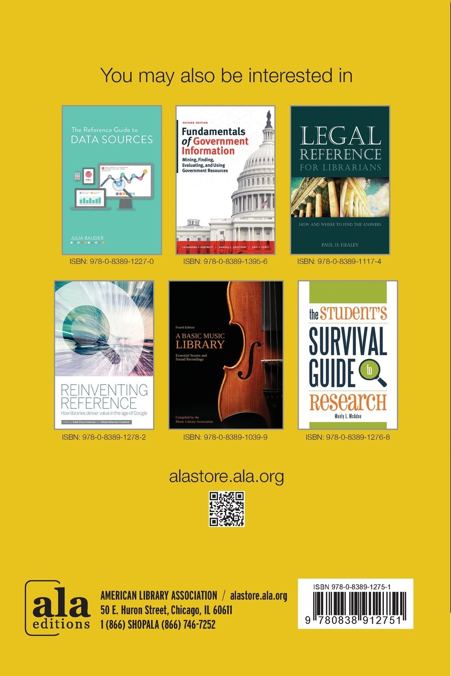 The ALA Guide to Information Sources in Insurance, Risk Management, and Actuarial Science by American Library Association