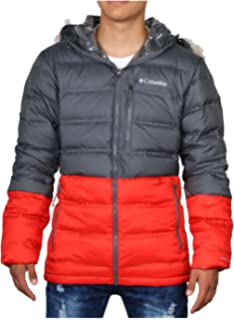 Columbia Mens Heatzone 1000 TurboDown Mens Hooded Jacket 1619811-464 ... 609ad1630b
