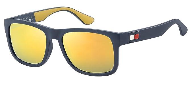 Amazon.com: Gafas de sol Tommy Hilfiger Th 1556/S 0DCD azul ...