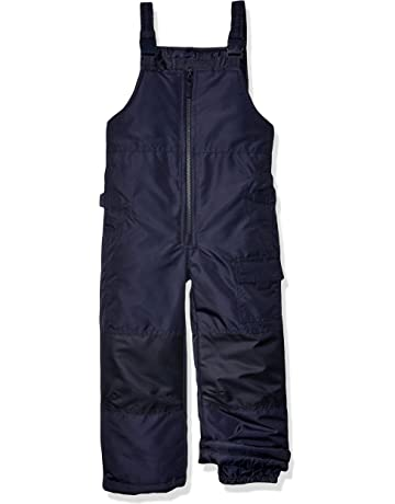 635568ded London Fog Boys' Classic Heavyweight Snow Bib Ski Snowsuit