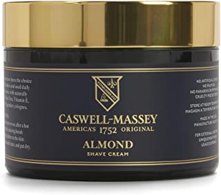 product image for Caswell-Massey Almond Soothing Shave Cream – All Natural Shaving Cream Made In USA - 8 oz Jar