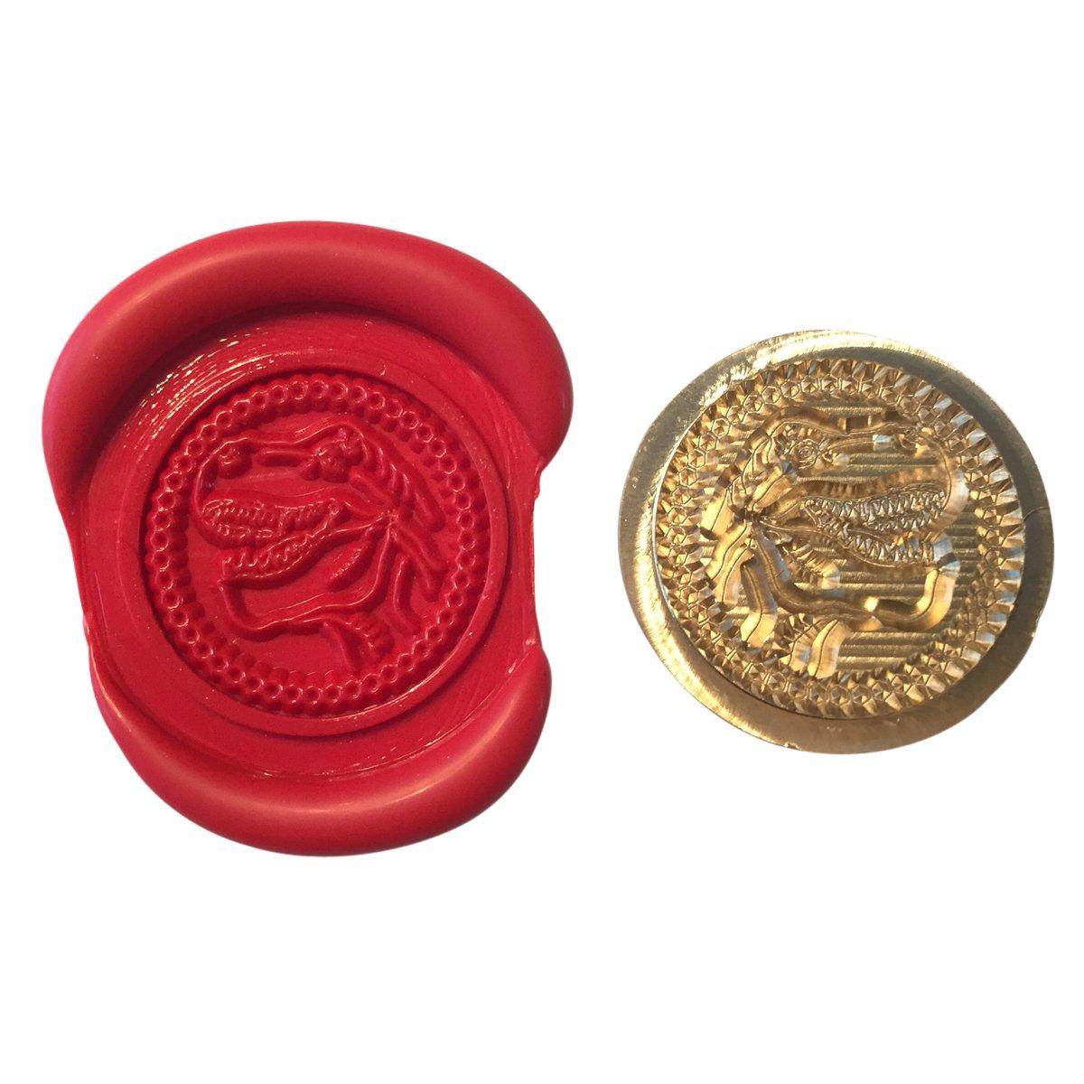 A Single T REX HEAD Coin Seal XWSC252 (S10) GTR-Gifts