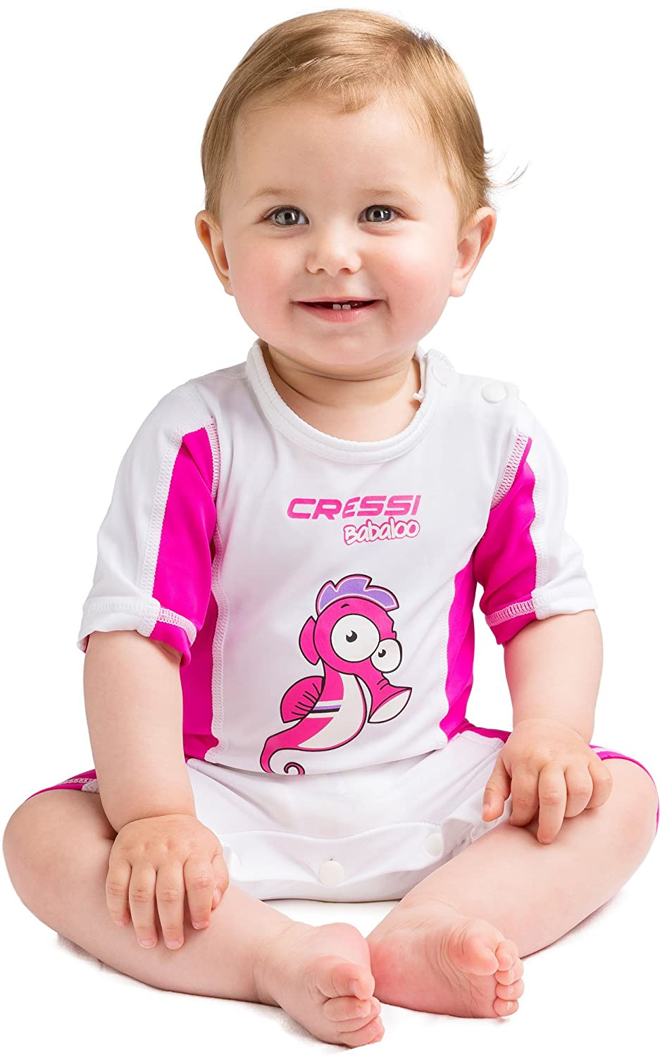 Cressi BABALOO BEACHWEAR, Kids Rash Guard with SPF 50+ for Swimming and Snorkeling - Cressi: Quality Since 1946 USR010101B