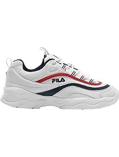 3afe49668adcd Fila Mujer Blanco Disruptor II Premium Zapatillas  Amazon.es ...